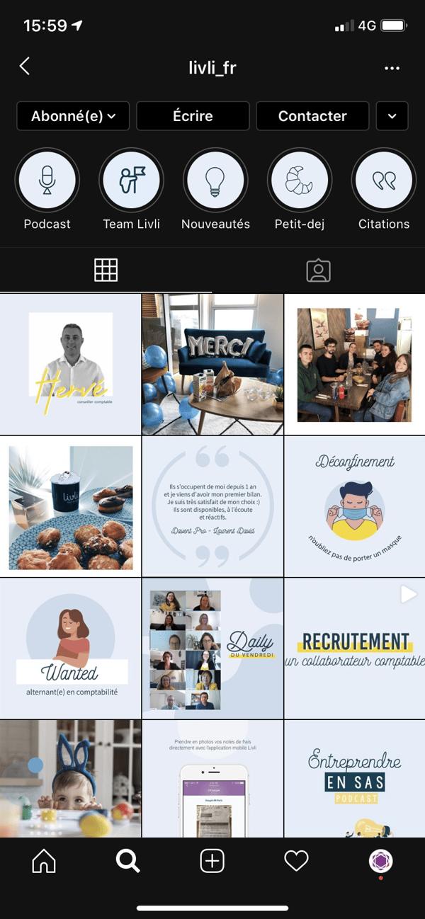 Expert Comptable et Instagram 1