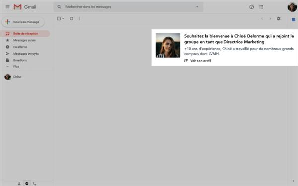 Intégration : G suite, Outlook, Office 365
