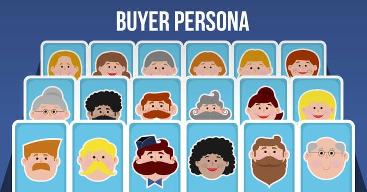 buyer persona, définition des profils types